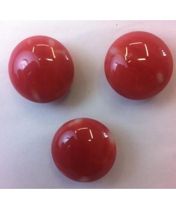 Bottoni corallo rosso