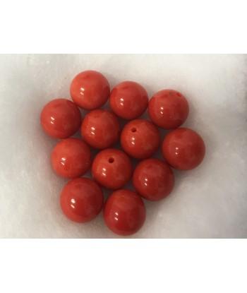 Pallini corallo rosso...